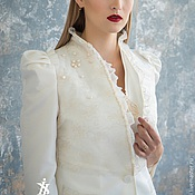 Одежда handmade. Livemaster - original item Jacket with pearls. DISCOUNT!!!. Handmade.
