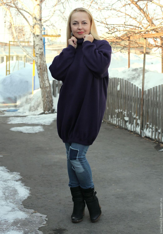 "Knit sweater dress in a ""Meeting of autumn - 4"", Dresses, Pavlodar,  Фото №1"