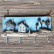 Ключницы ручной работы. Ярмарка Мастеров - ручная работа Сказочное местечко  Ключница. Handmade.