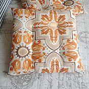 Для дома и интерьера ручной работы. Ярмарка Мастеров - ручная работа Подушка на стул Тоскана. Handmade.