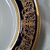 "Тарелки ручной работы. Ярмарка Мастеров - ручная работа Изысканная тарелка "" Rosenthal "". Handmade."