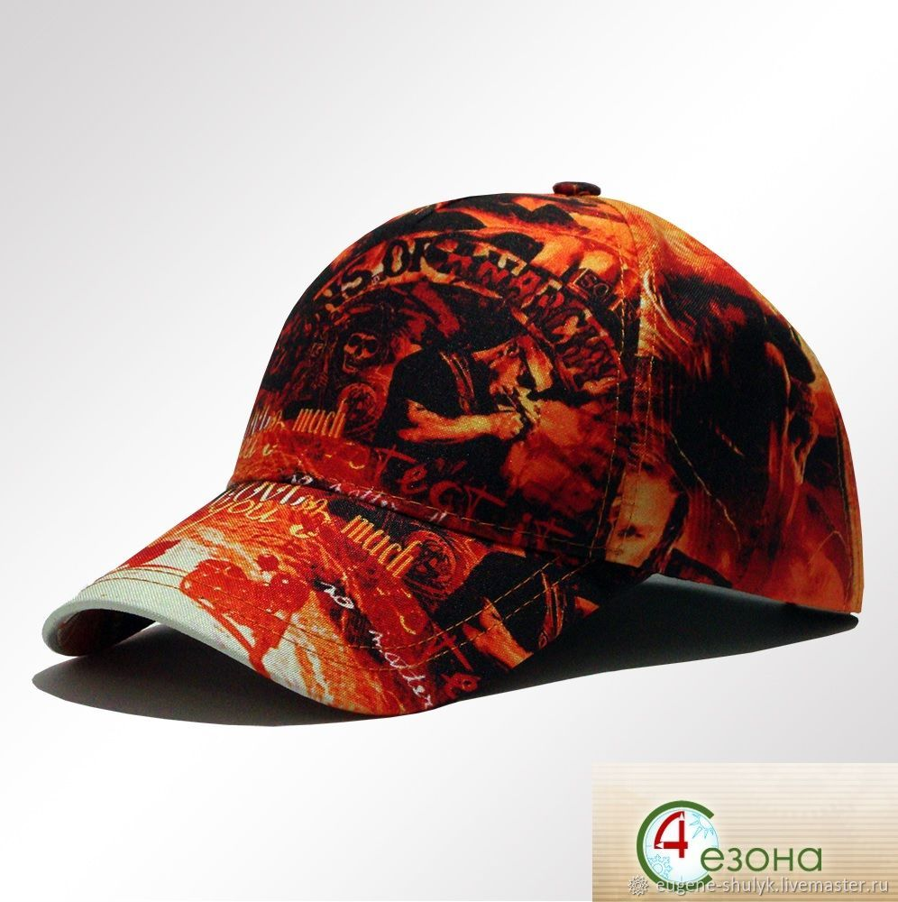 Full print S. O. a Sun baseball cap, Baseball caps, Moscow,  Фото №1