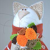 Куклы и игрушки ручной работы. Ярмарка Мастеров - ручная работа Кошка-терракошка. Handmade.