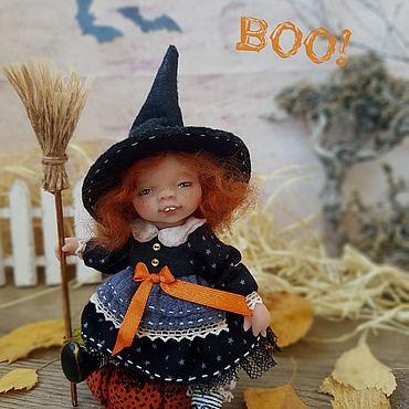 Куклы и игрушки ручной работы. Ярмарка Мастеров - ручная работа Куклы: Ведьмочка Джейн. Handmade.