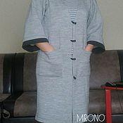 Одежда ручной работы. Ярмарка Мастеров - ручная работа Кардиган женский на вязальной машине.. Handmade.