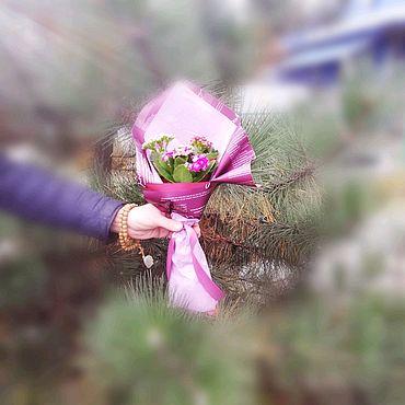 Цветы и флористика ручной работы. Ярмарка Мастеров - ручная работа Букет - комплемент. Handmade.