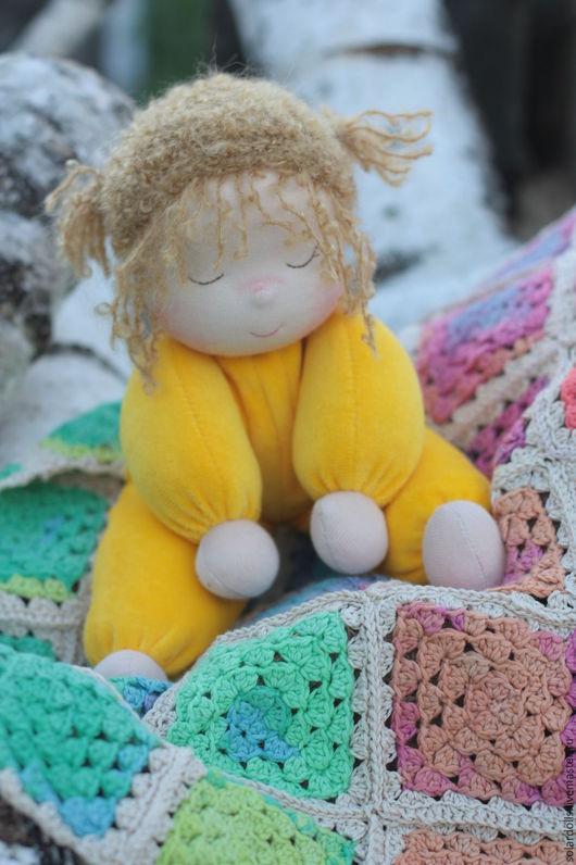 Мамино Солнышко 32 см. Вальдорфская кукла.Julia Solarrain (SolarDolls) Ярмарка Мастеров