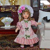 Куклы и игрушки ручной работы. Ярмарка Мастеров - ручная работа Кукла миниатюрная  7,5 см.. Handmade.