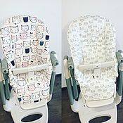 Мебель ручной работы. Ярмарка Мастеров - ручная работа Чехол на стульчик для кормления tatamia. Handmade.