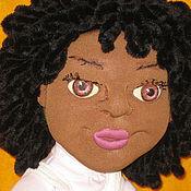Куклы и игрушки handmade. Livemaster - original item Leah textile doll. Handmade.