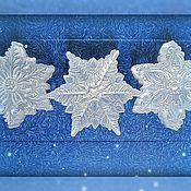 Косметика ручной работы. Ярмарка Мастеров - ручная работа Снежинка ледяная. Handmade.