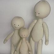 Куклы и игрушки ручной работы. Ярмарка Мастеров - ручная работа Кукла снежка голышка. Handmade.