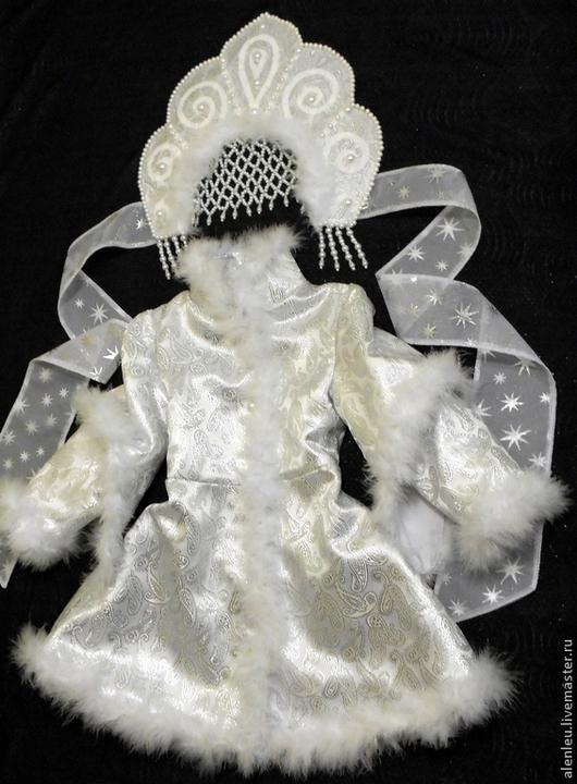 """Карнавальные костюмы ручной работы. Ярмарка Мастеров - ручная работа. Купить """"Снегурочка сказка"""" костюм для девочки. Handmade. Снегурочка"""
