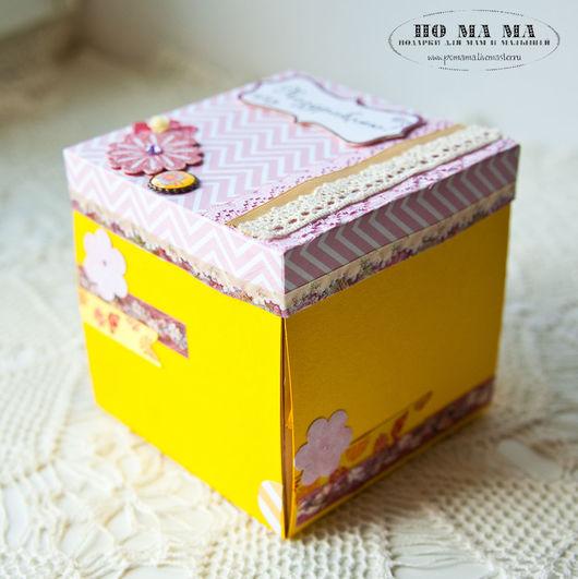 Блокноты ручной работы. Ярмарка Мастеров - ручная работа. Купить Коробочка с сюрпризом Magic box. Handmade. Комбинированный