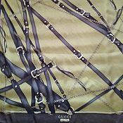 Винтаж handmade. Livemaster - original item Vintage handkerchief, silk, the brand from Italy. Handmade.