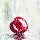Натюрморт ручной работы. Ярмарка Мастеров - ручная работа. Купить Cherry sweet. Handmade. Картина, холст, вишенка, экспрессионизм
