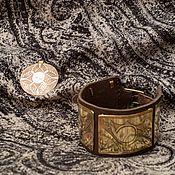 Украшения ручной работы. Ярмарка Мастеров - ручная работа Комплект Индейские мотивы (браслет и кулон). Handmade.