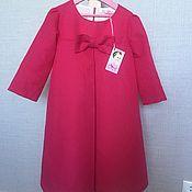 Платье ручной работы. Ярмарка Мастеров - ручная работа Платье для девочки А-силуэта. Handmade.