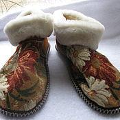 Обувь ручной работы handmade. Livemaster - original item Chuni from sheepskin