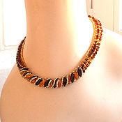 Украшения handmade. Livemaster - original item Necklace: Yantariki. Handmade.