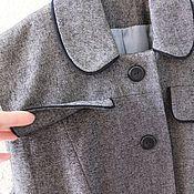 Одежда ручной работы. Ярмарка Мастеров - ручная работа Жакет без рукавов (офисный, шитый). Handmade.