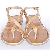 """Обувь ручной работы. Ярмарка Мастеров - ручная работа Кожаные сандалии """"классические"""" открытые. Handmade."""