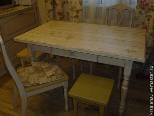 Мебель ручной работы. Ярмарка Мастеров - ручная работа. Купить столовая в стиле прованс. Handmade. Бежевый, кухня, ручная работа