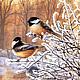 Алмазная вышивка `Птицы`