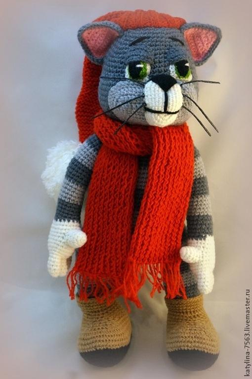 """Сказочные персонажи ручной работы. Ярмарка Мастеров - ручная работа. Купить """"Лучший Кот"""". Handmade. Серый, коты и кошки"""