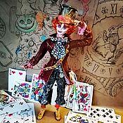 Куклы и игрушки handmade. Livemaster - original item Mad Hatter Cotton Wool Collectible Interior Toy.. Handmade.