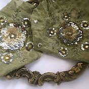 Материалы для творчества handmade. Livemaster - original item Antique applique No. №951. Handmade.