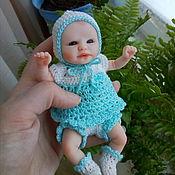 Куклы Reborn ручной работы. Ярмарка Мастеров - ручная работа Мини реборн 14 см. Продана. Handmade.