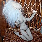 Материалы для творчества ручной работы. Ярмарка Мастеров - ручная работа Заготовка текстильной шарнирной куклы со скрытыми сутавами. Handmade.