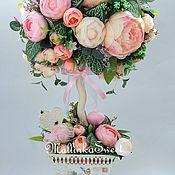 """Цветы и флористика ручной работы. Ярмарка Мастеров - ручная работа Топиарий, дерево счастья """"Клеопатра"""". Handmade."""
