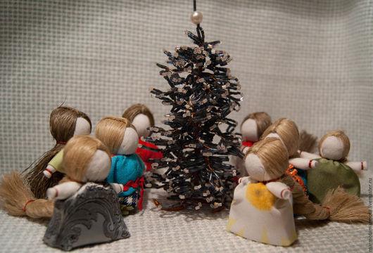 Народные куклы ручной работы. Ярмарка Мастеров - ручная работа. Купить Кукла Женское счастье оберег. Handmade. Кукла, кремовый