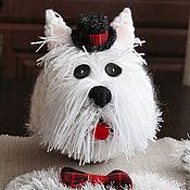"""Работы для детей, ручной работы. Ярмарка Мастеров - ручная работа Костюм карнавальный вязаный """"Собака"""". Handmade."""