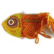 Картины и панно ручной работы. Ярмарка Мастеров - ручная работа Золотая рыбка. Handmade.