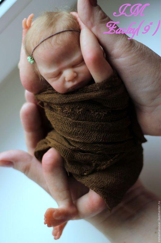 Куклы-младенцы и reborn ручной работы. Ярмарка Мастеров - ручная работа. Купить Заинька. Handmade. Бледно-розовый, Ирина Моисеева