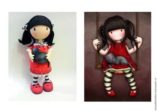 Коллекционные куклы ручной работы. Ярмарка Мастеров - ручная работа. Купить Куколка из фом эва.. Handmade. Фом эва, фоамиран