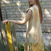Одежда ручной работы. Ярмарка Мастеров - ручная работа Платье валяное Нежные мотивы. Handmade.