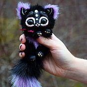 Куклы и игрушки ручной работы. Ярмарка Мастеров - ручная работа Мини кошачьи зверьки. Handmade.
