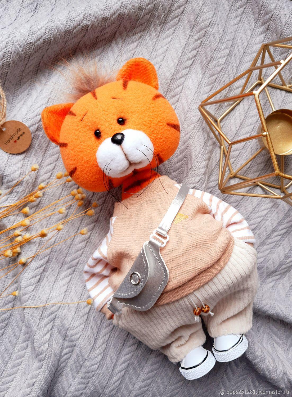 Tiger Yashka. Symbol of the year 2022, Christmas gifts, Suvorov,  Фото №1