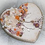 """Сувениры и подарки ручной работы. Ярмарка Мастеров - ручная работа Подарочная коробочка """"Нежность любви"""". Handmade."""