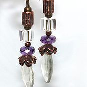 Украшения handmade. Livemaster - original item Earrings Evening. Handmade.