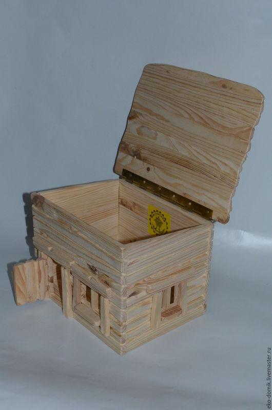 Новый год 2017 ручной работы. Ярмарка Мастеров - ручная работа. Купить Подарочный деревянный ларец. Handmade. Бежевый, новогодний декор