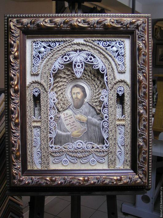 Иконы ручной работы. Ярмарка Мастеров - ручная работа. Купить Икона Алексей человек божий. Handmade. Икона в подарок
