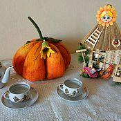 Для дома и интерьера handmade. Livemaster - original item Covers: Pumpkin. Handmade.