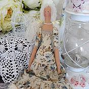 Куклы и игрушки ручной работы. Ярмарка Мастеров - ручная работа Кукла текстильная интерьерная Тильда. Handmade.