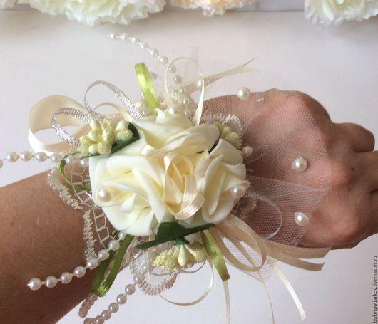 Одежда и аксессуары ручной работы. Ярмарка Мастеров - ручная работа. Купить Браслеты для подружек невесты ( повтор). Handmade. Комбинированный