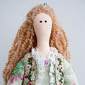 Куклы и игрушки ручной работы. Ярмарка Мастеров - ручная работа Кукла тильда Марта, текстильная кукла, интерьерная кукла. Handmade.